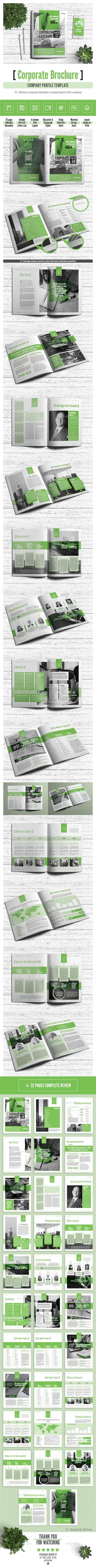 Corporate Brochure - Company Profile Multipurpose Template | Finales