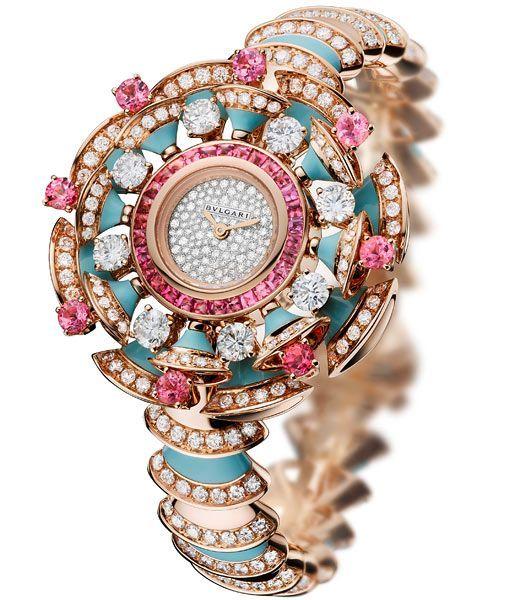24d37f4b23fa7 Relógio - Bulgari.   relógios   Pinterest   Relógios, Joias e ...