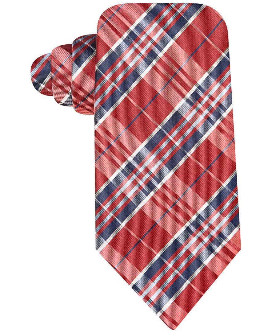 John Ashford Traditional Plaid Tie, Only at Macy's