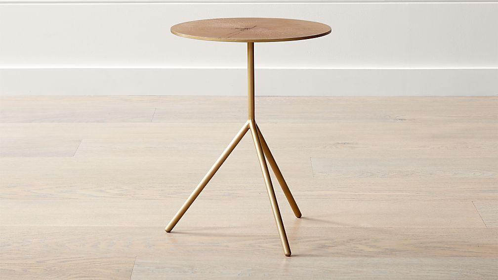 crate and barrel accent table