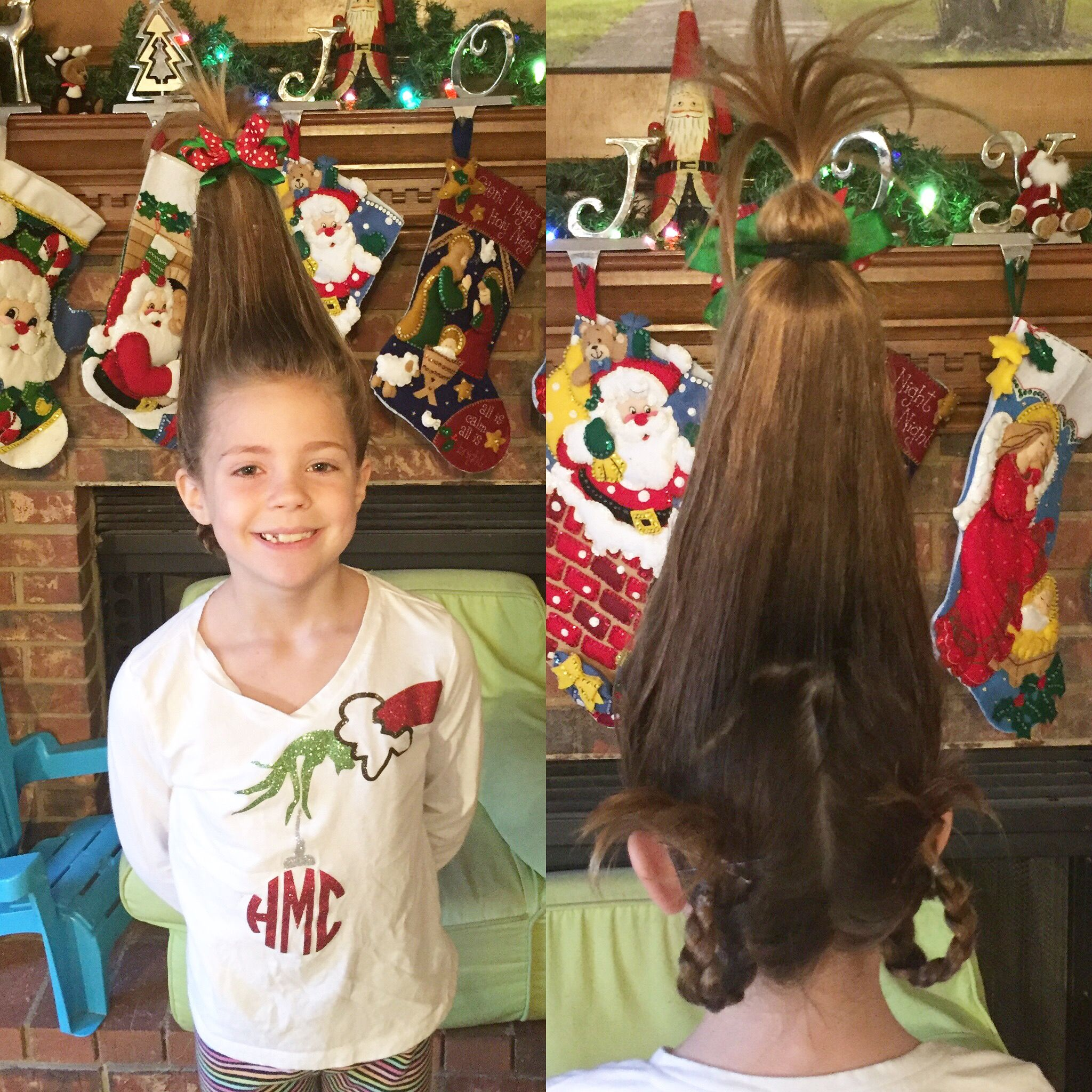 Image result for who grinch hair with bottle