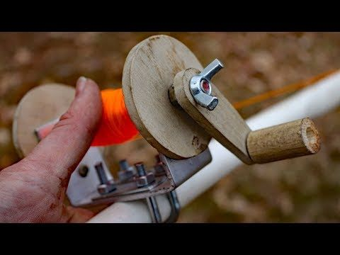 d84800438c3 Homemade rod and reel fishing challenge!!!! - YouTube