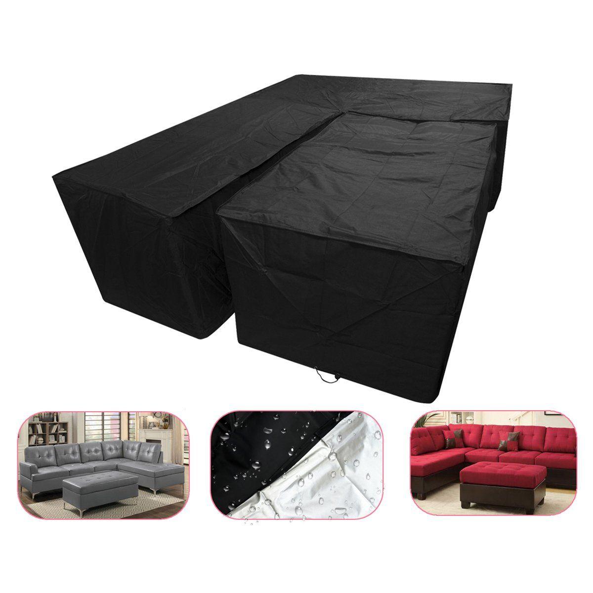 waterproof garden furniture covers l shaped