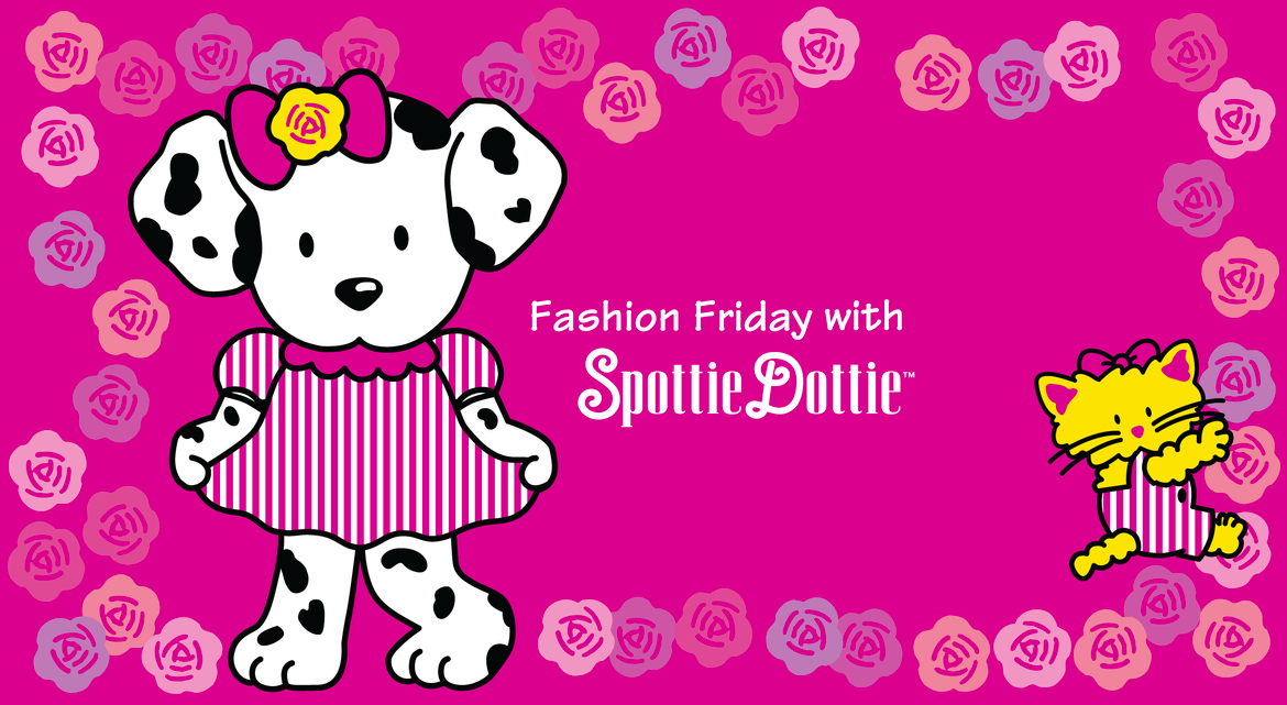 Ready for the fabulous weekend? It's #FashionFriday with Spottie Dottie!