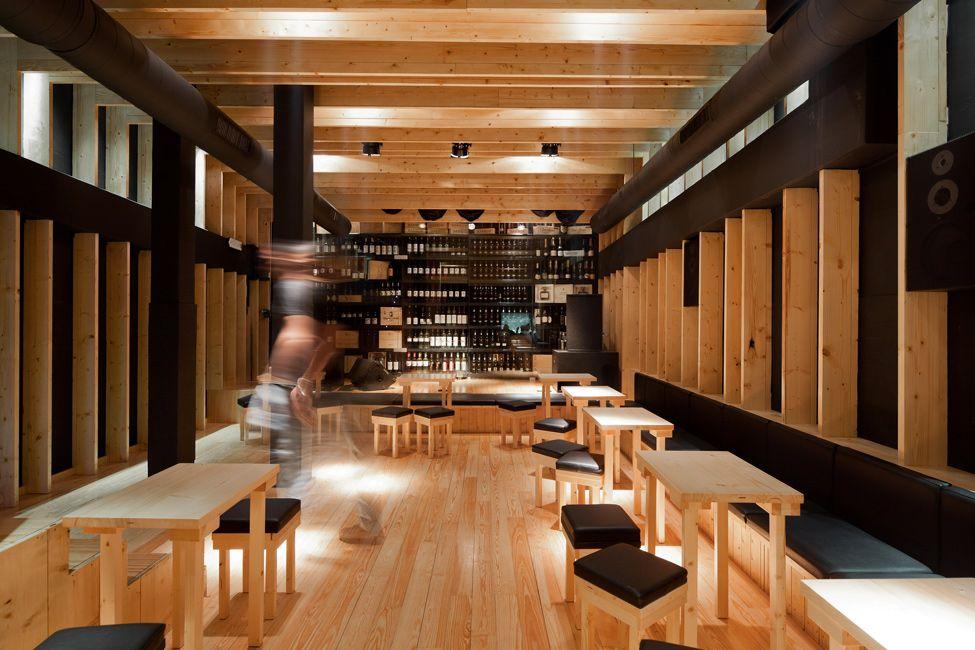 этого, судя картинки деревянного ресторана работе