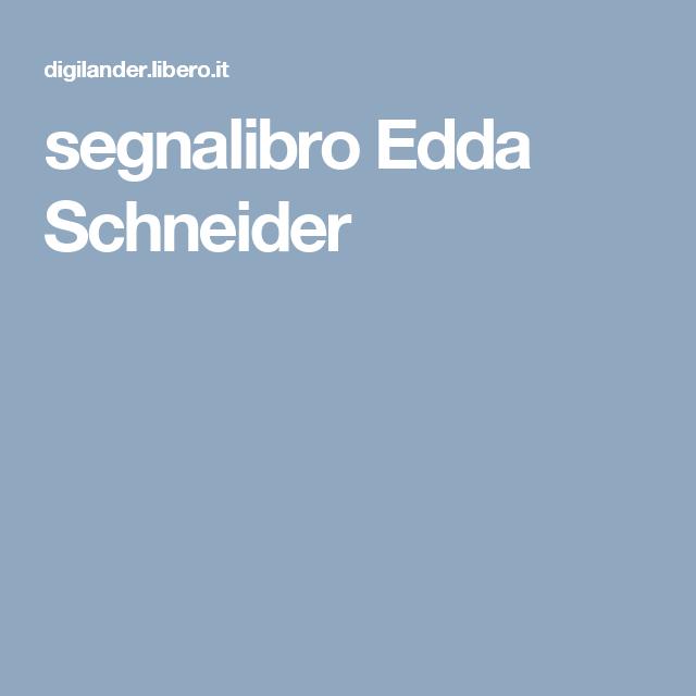 segnalibro Edda Schneider