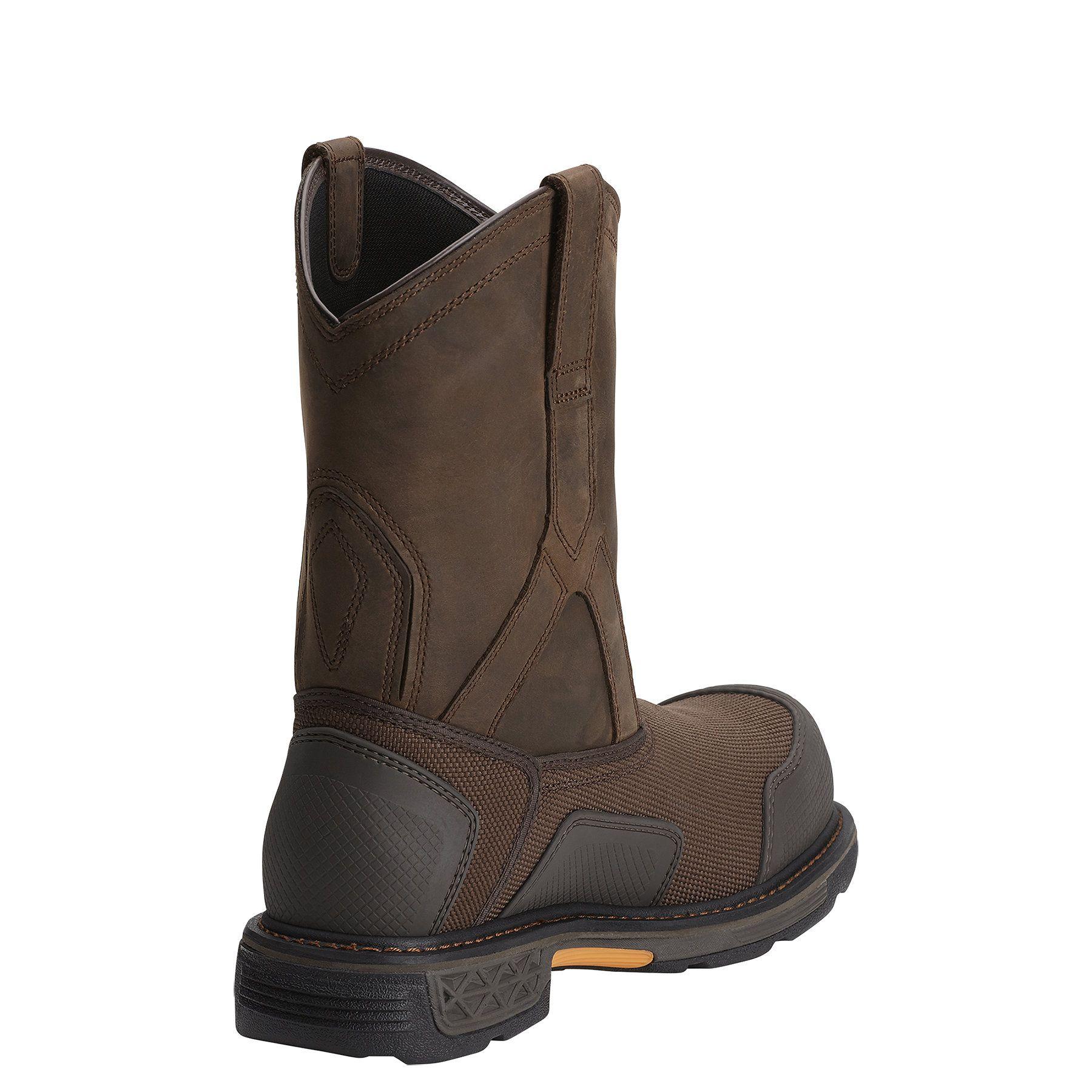 Overdrive Xtr Waterproof Composite Toe Work Boot Composite Toe Work Boots Boots Leather