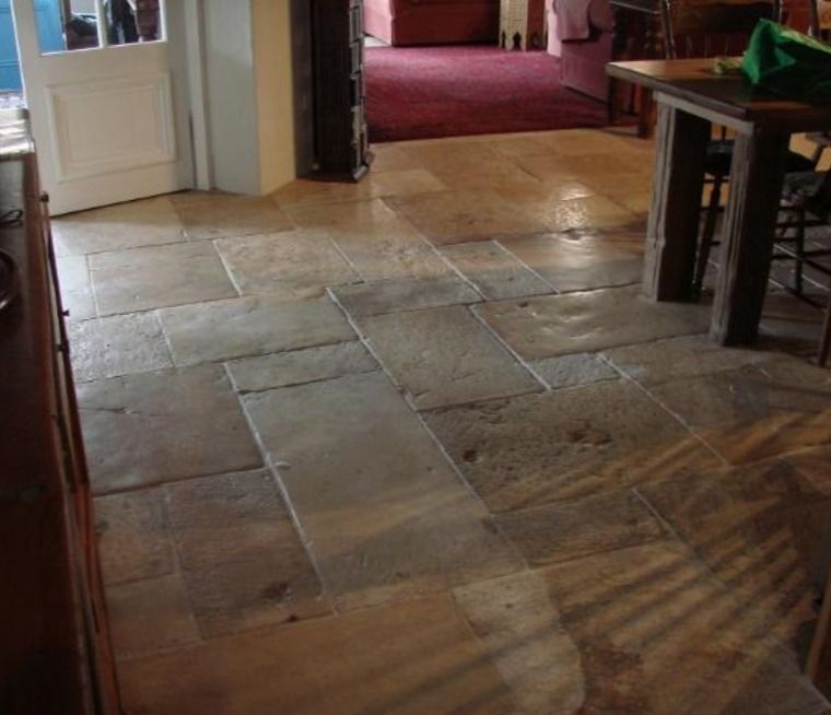 Antique French Stone Flooring in 2020 Reclaimed stone