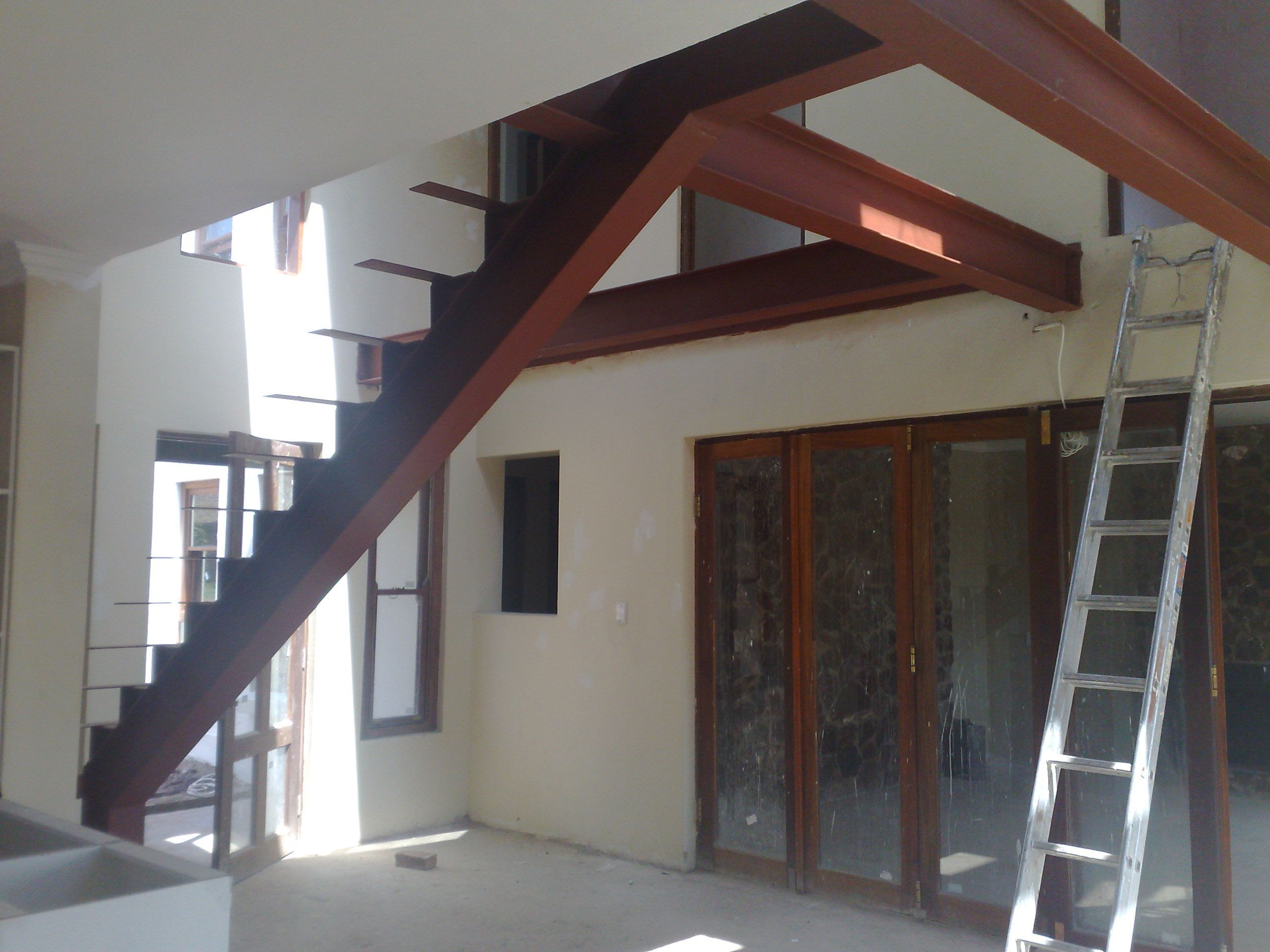 Best Custom Made Mild Steel Staircases You Can Add Wood Or 400 x 300