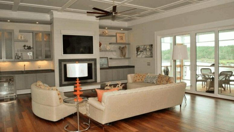 Living Room, Bedroom Wall Shelves Area Rugs Jacksonville Fl Warm Sofa With  Reversible Chaise Large Picture Frames Chic Coffee Table: Living Room  Shelving ...