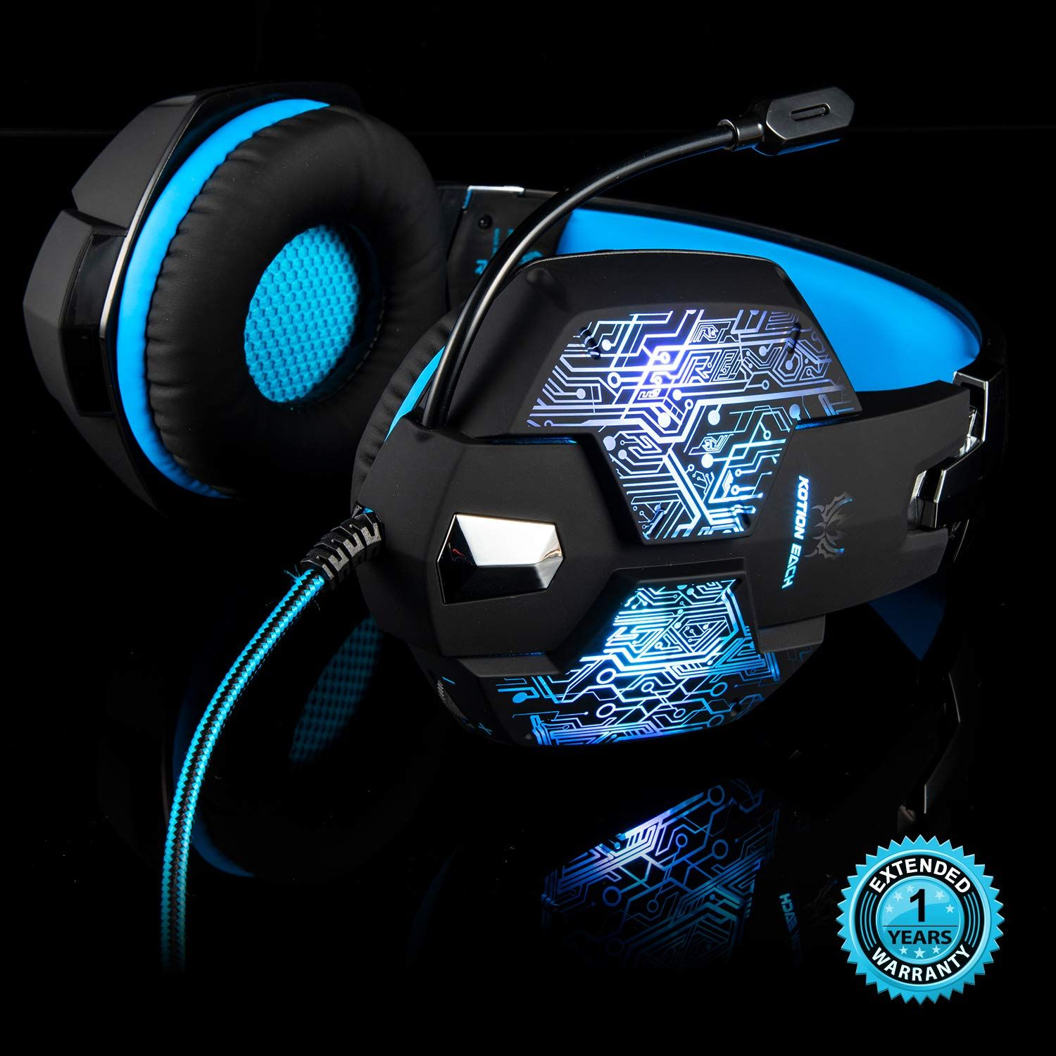 Stereo Gaming Headset With Mic For Pc Ps4 Xbox One
