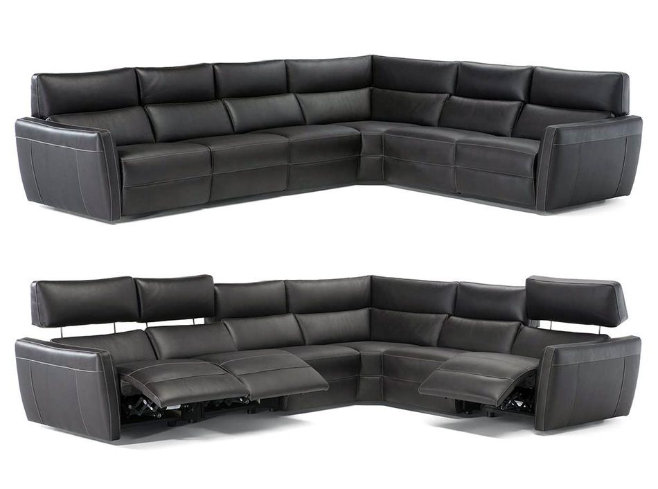 Generoso C096 Recliner Sectional By Natuzzi Editions Reclining