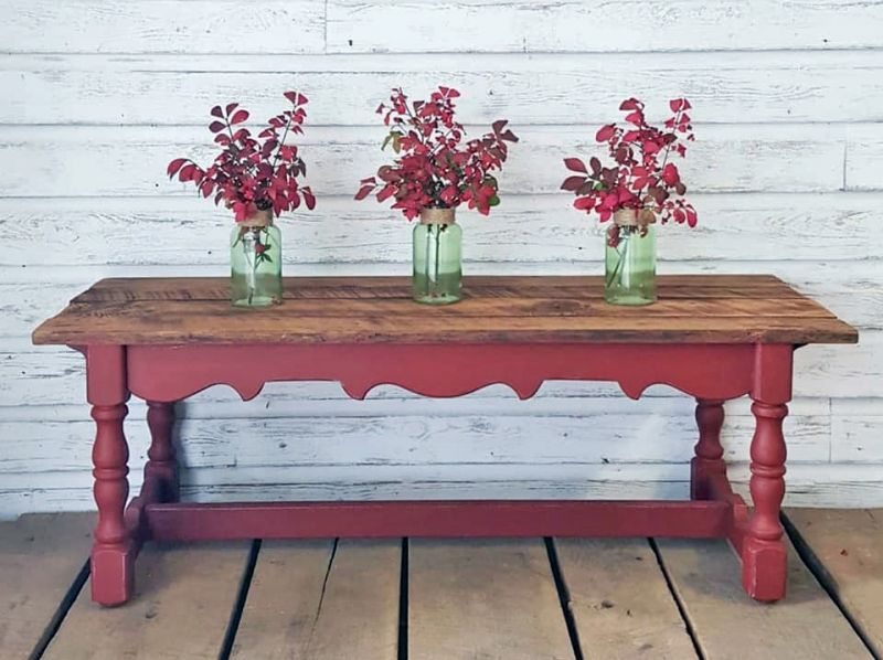 Strange Brick Red Coffee Table Red Painted Furniture Red Coffee Bralicious Painted Fabric Chair Ideas Braliciousco