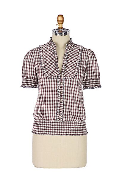 Concho Top #anthropologie