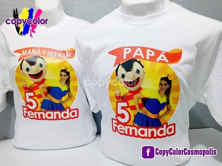 Bely Y Beto Copycolor Playeras Personalizadas Lo Mejor En