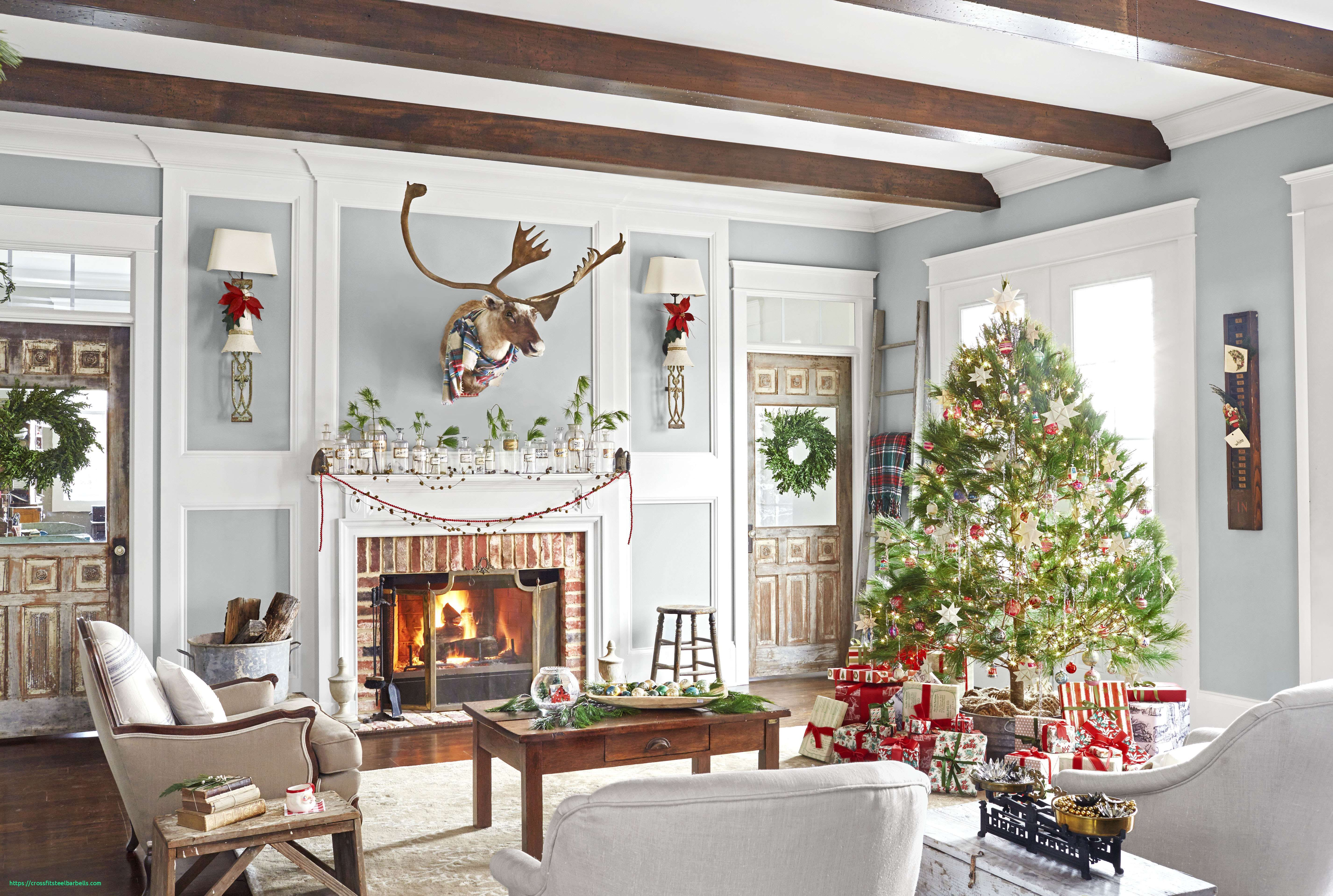 Christmas House Decorating Ideas Inside Elegant Home Decorations Bm Furniure