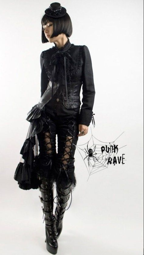 Gothic Fashion Ideas. For All Those Individuals Who Like