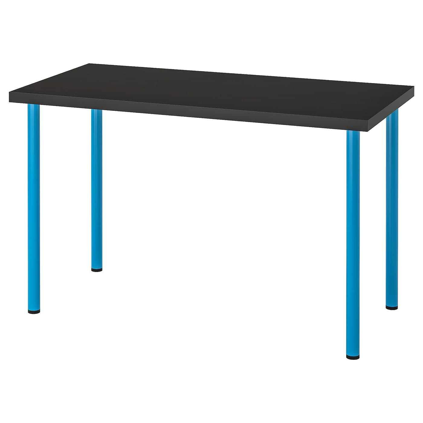 Linnmon Adils Tisch Schwarzbraun Blau Ikea Osterreich Ikea Linnmon Ikea Und Schwarzbraun