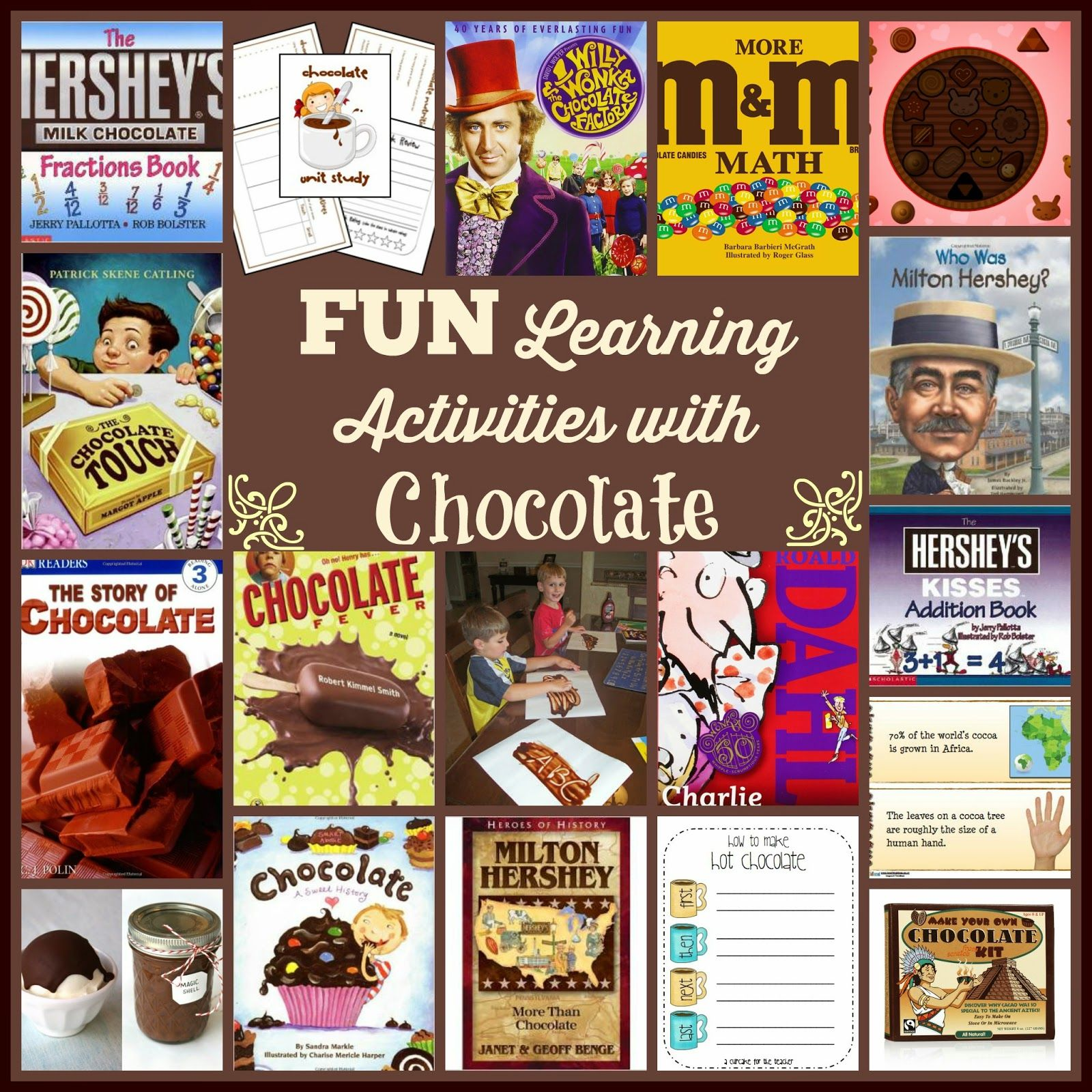 Fun Learning Activities With Chocolate