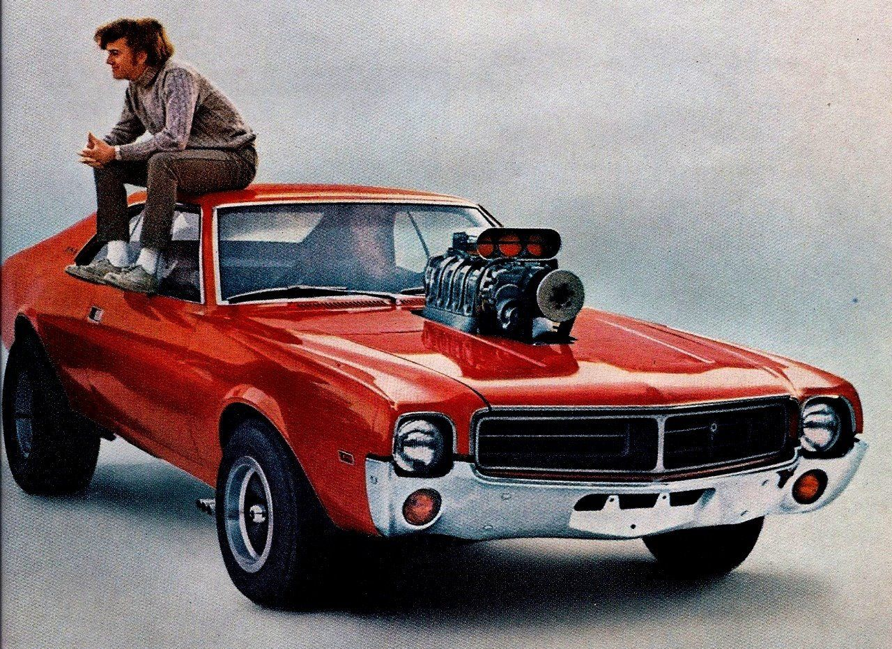 1969 Javelin Add From A Tvmercial Where The Son Borrows His Dad's Stock  Car And