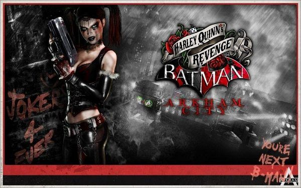 This is the walpaper on my laptop at the moment. I love her to death and I'm getting the Game of the Year Edition of Arkham City tomorrow.... SO EXCITED THERE ARENT' EVEN WORDS!!!!! :D