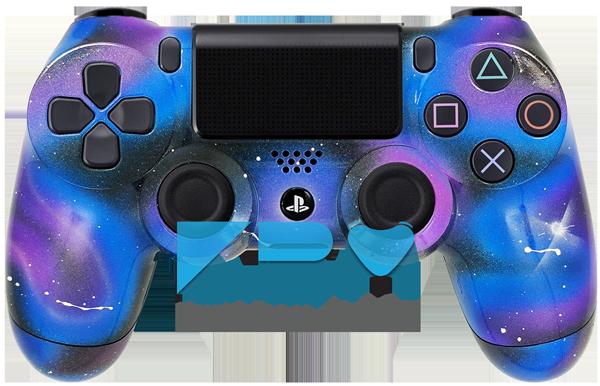 Galaxy Custom Ps4 Controller Ps4 Controller Ps4 Playstation Controller