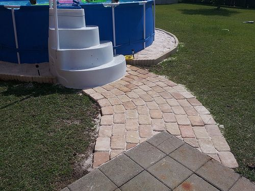 Intex Above Ground Pool Landscaping Ideas landscaping around above ground pools | jpeg above ground pool