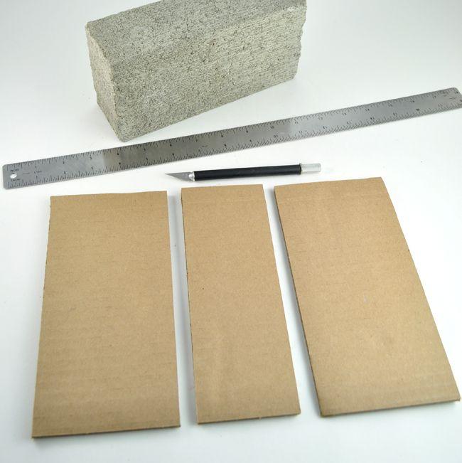 Concrete Brick Book Bookends Diy Club Chica Circle Where Crafty Is Contagious Diy Bookends Concrete Bricks Cement Diy