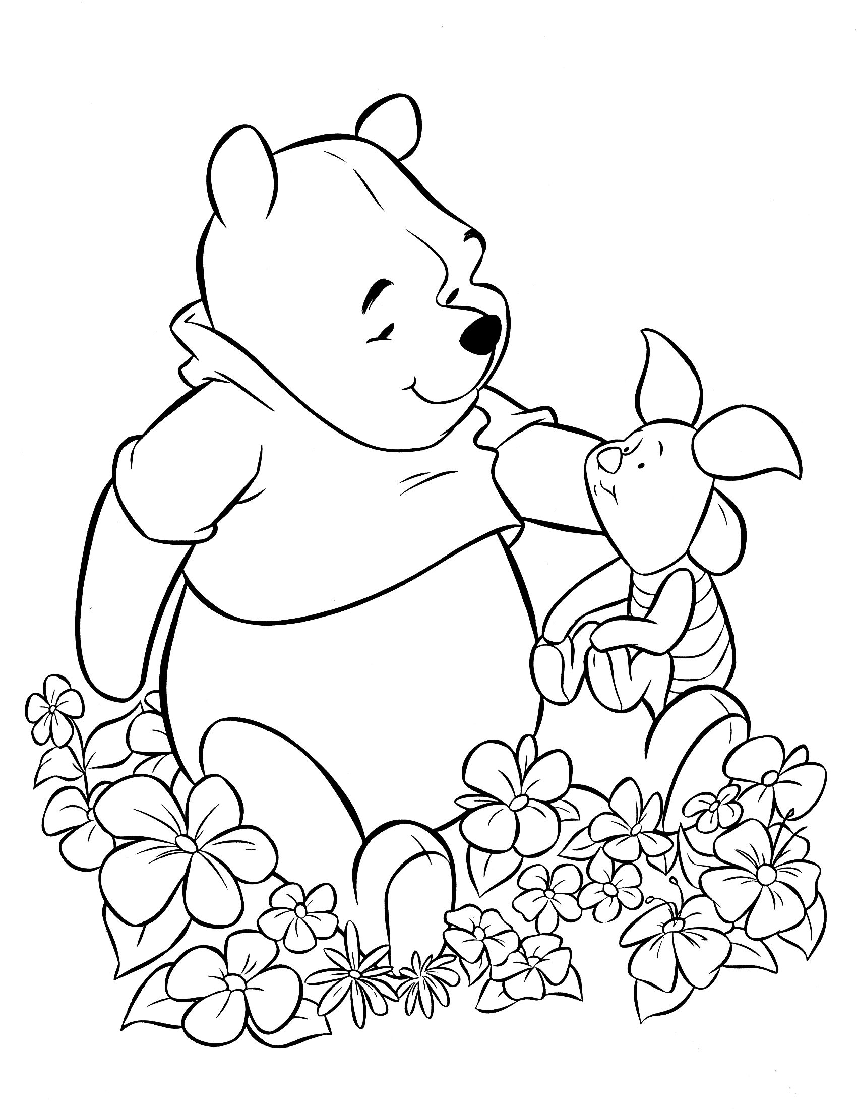 Pooh 15 Disney Coloring Pages Coloring Pages Coloring Books