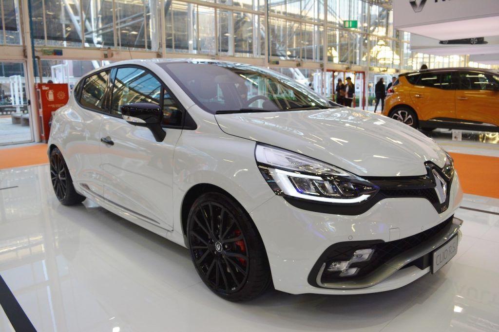 Renault Clio R S Trophy Bologna Motor Show Live New Renault