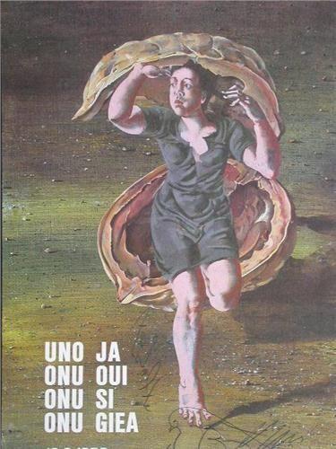 """Hans Erni -  """"UNO JA"""", 1985."""