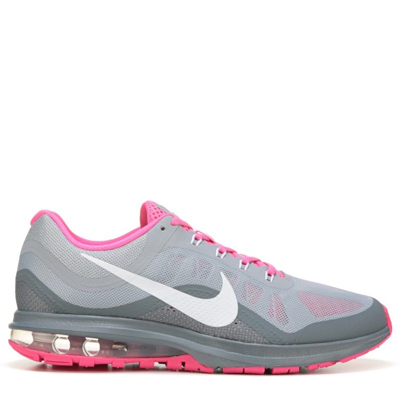 reputable site e1e90 92eef Nike Women s Air Max Dynasty 2 Running Shoes (Grey White Pink) -