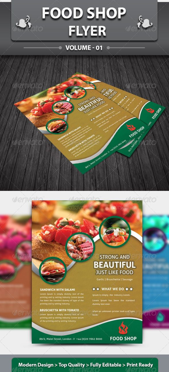Restaurant Business Flyer  Volume    Mexican Food Advertising