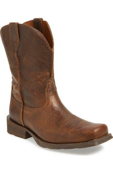 056e3cece3b ARIAT  Rambler  Square Toe Leather Cowboy Boot (Men).  ariat  shoes  boots