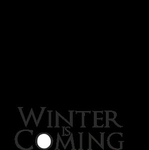 Winter Is Coming Logo Vector Vector Logo Winter Is Coming Winter