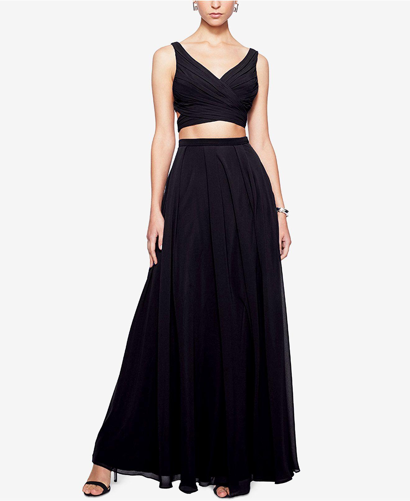 Fame and partners twopiece halter dress dresses women macyus