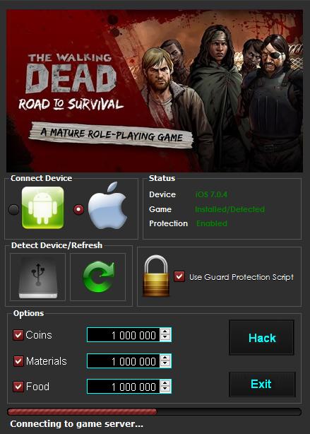 the walking dead road to survival hack apk download