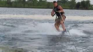 Guy Disappears After #Wakeboarding #FAIL