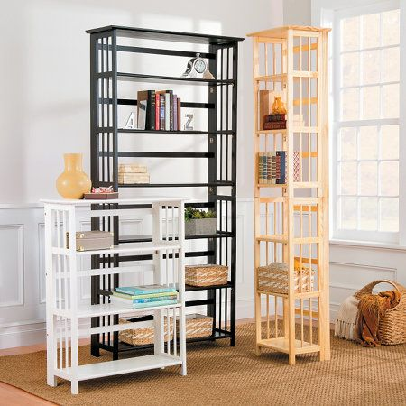 3 tier folding bookcase - Folding Bookshelves