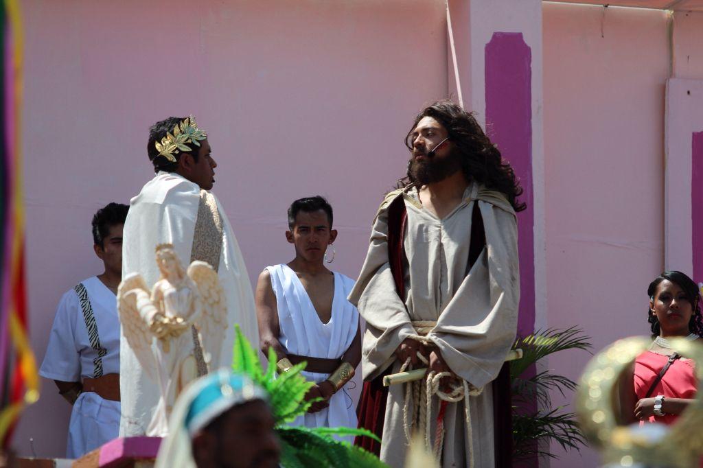 El nazareno juzgado