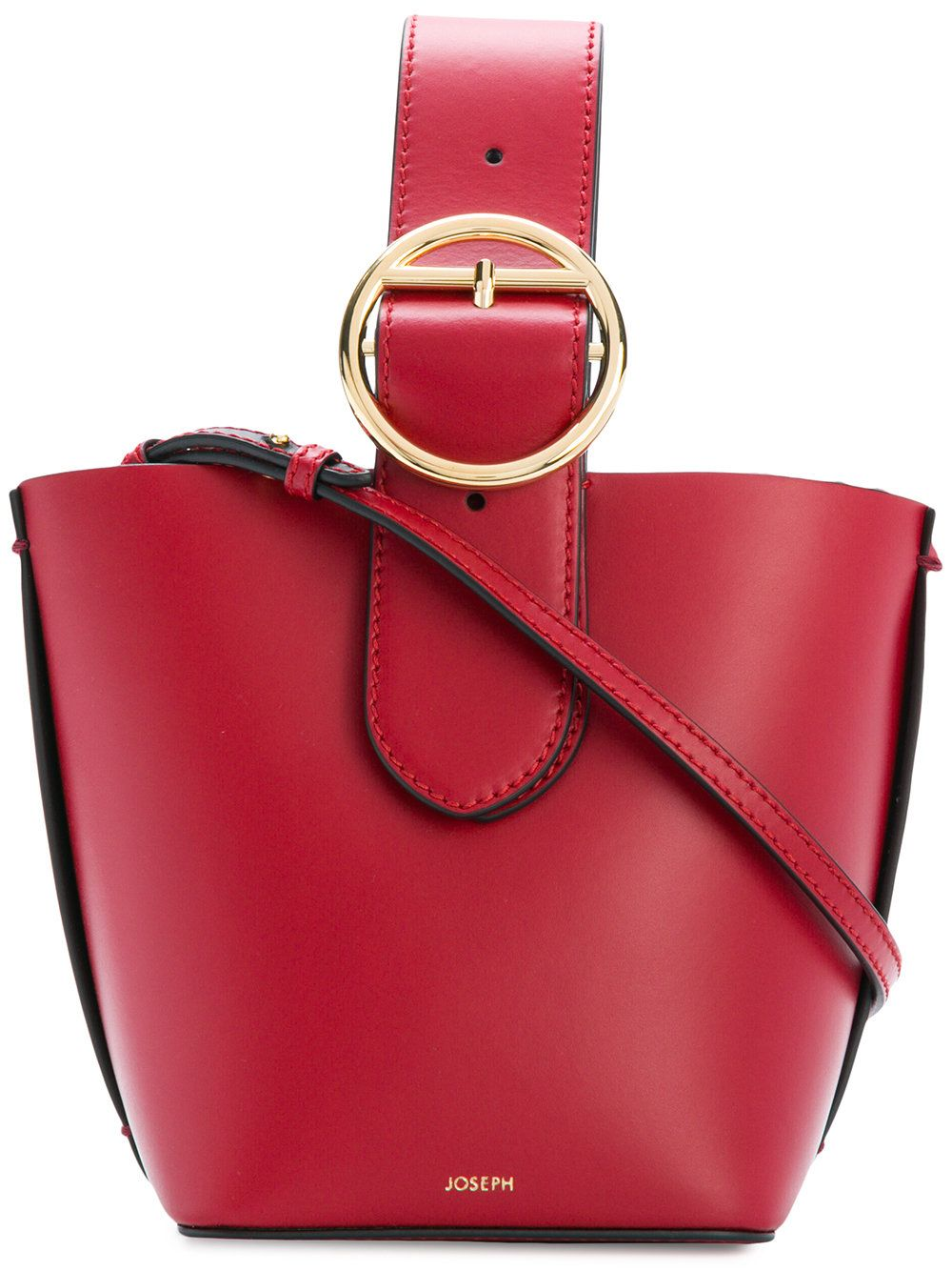 754130517940 JOSEPH RED.  joseph  bags  shoulder bags  hand bags  leather  bucket ...