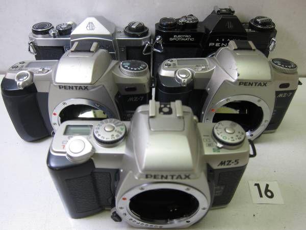 PENTAX  SV PENTAX  ELECTRO SPOTMATIC ES PENTAX  MZ-7 PENTAX  MZ-7 PENTAX  MZ-5