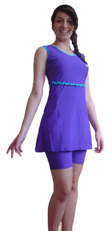 d5ea2707a8 Muslim Islamic modest Swimwear Full Semi Cover Swimming Costume Modesty  Swimsuit | eBay