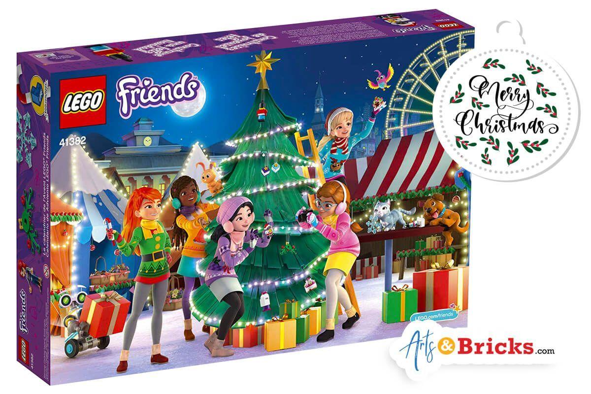 Advent Arts Bricks Calendar Friends Lego Lego Friends Advent