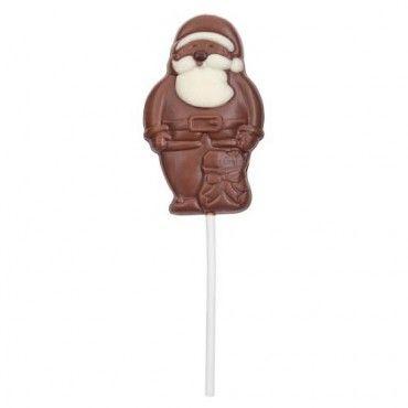 Santa Lolly Christmas Sweets Chocolate Lollies Christmas Food
