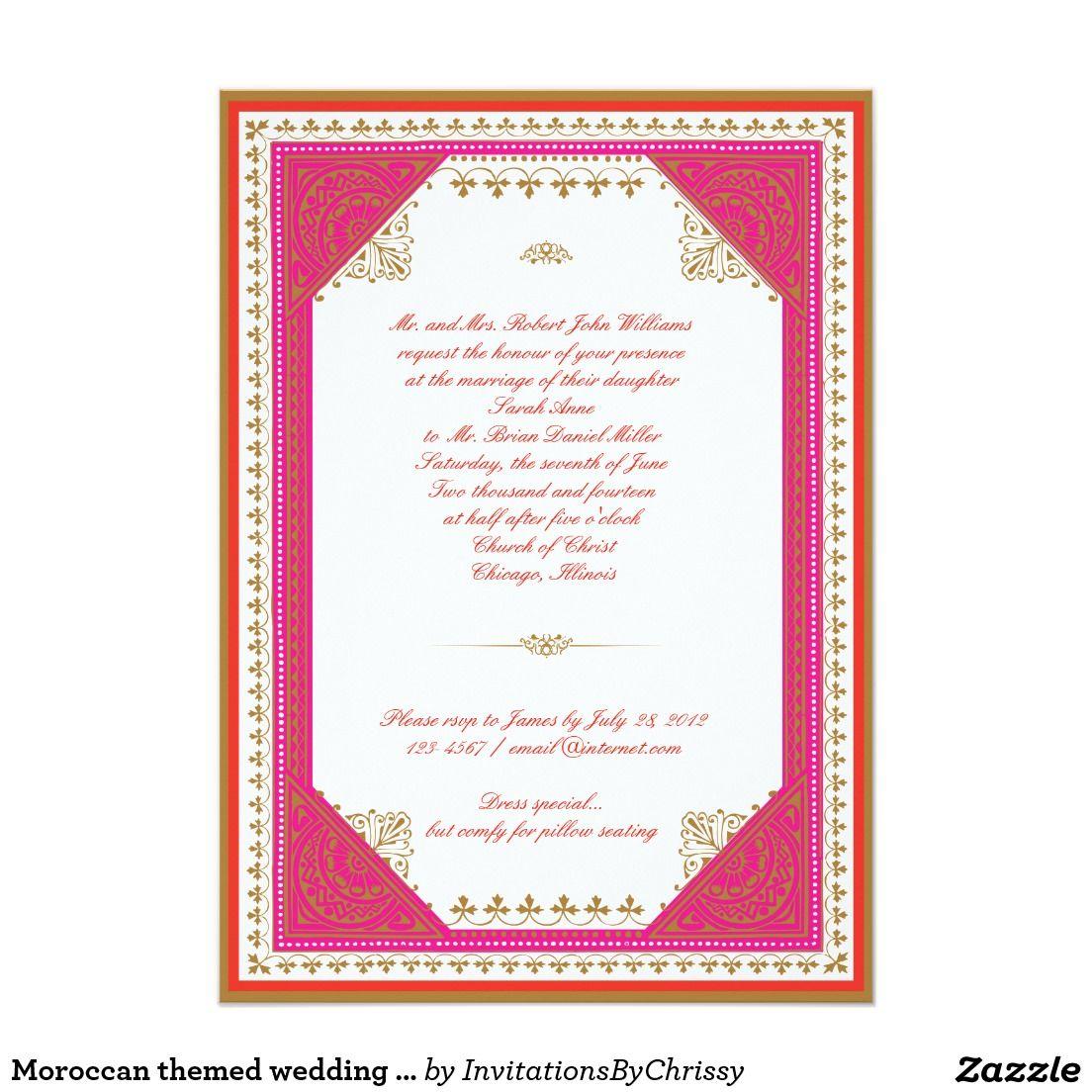 Colorful Moroccan Themed Wedding Reception Model - The Wedding Ideas ...