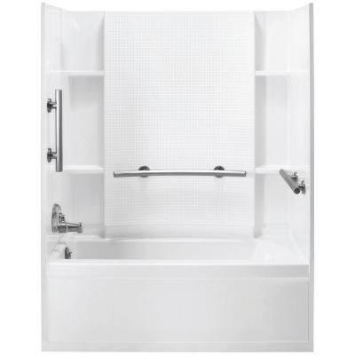 Sterling Accord 31 1 4 In X 60 In X 73 1 4 In Bath And Shower