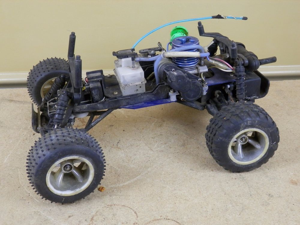 Traxxas UNKNOWN MODEL Nitro Gas Powered RC Car Truck NOT