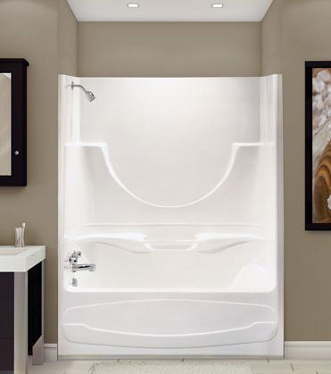 Figaro II Alcove Or Tub Showers Bathtub   Advanta By MAAX