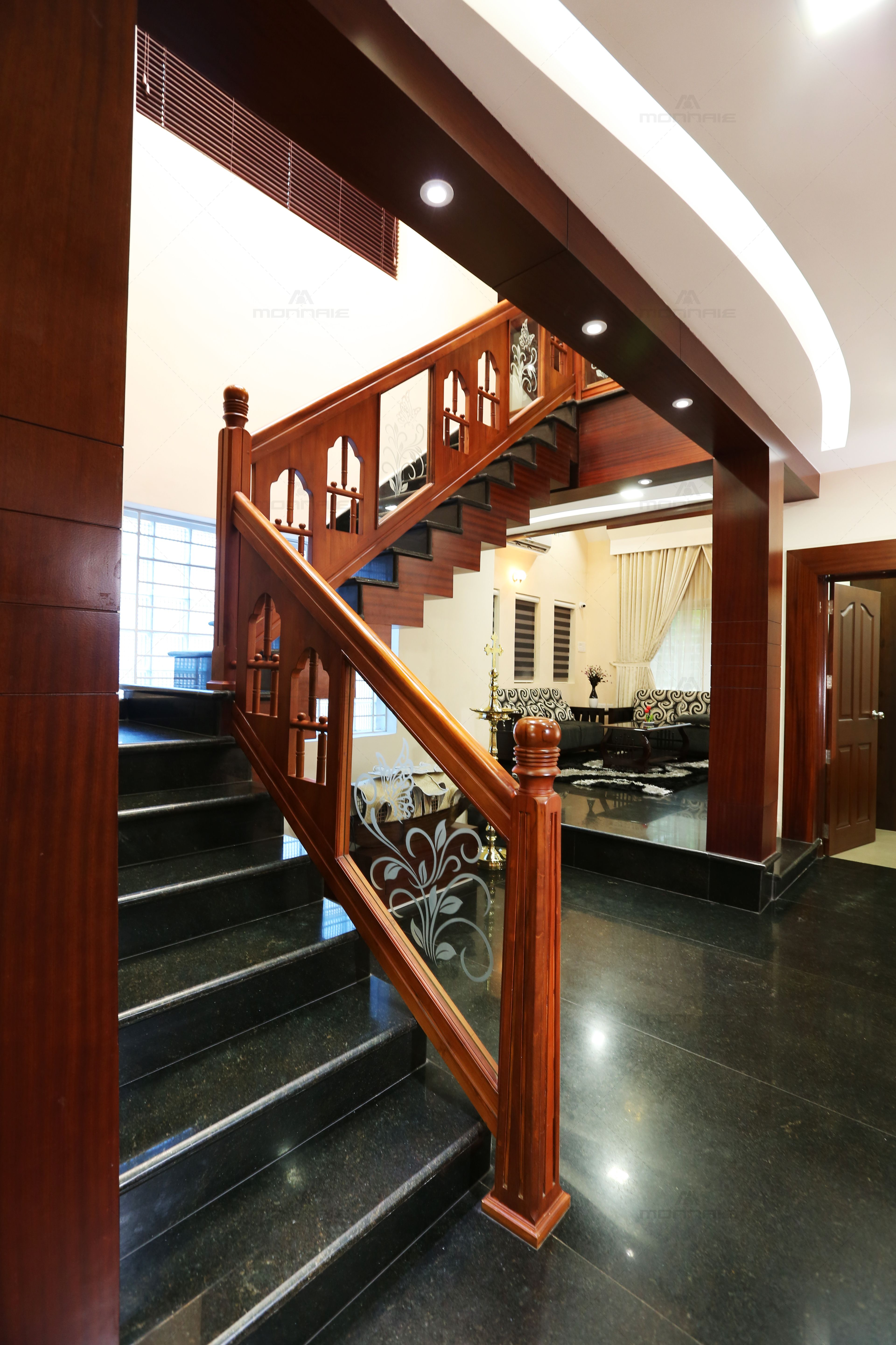 Pin by Sudha on Dream house plans | Stair railing design ...